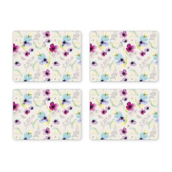 Set 4 suporturi pentru farfurie Cooksmart Chatsworth Floral, 29 x 21,5 cm