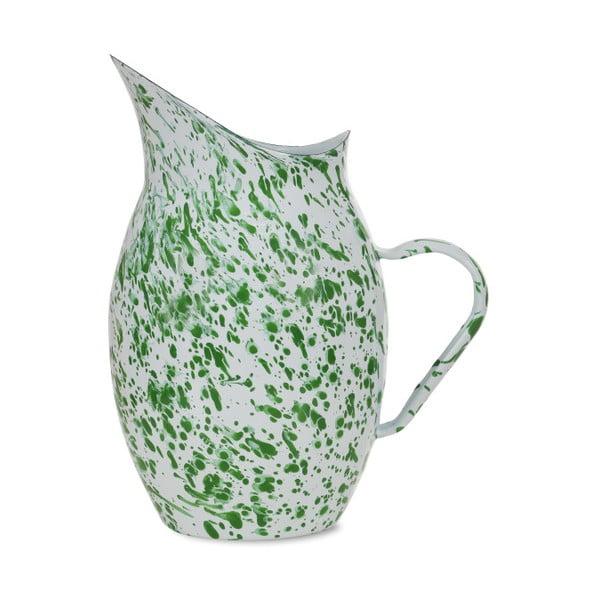 Zielono-biały dzban Garden Trading Kewsick, 2,8 l
