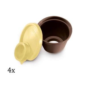 Formy na bábovičky Creme Caramel, 4 ks