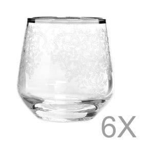 Set 6 pahare Mezzo Snow, 95 ml