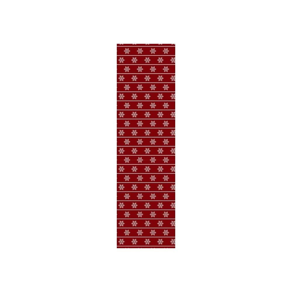 Vánoční běhoun na stůl Red Wine, 40 x 140 cm