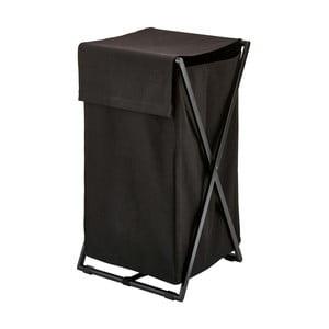 Černý koš na prádlo Aquanova Icon, 106 l
