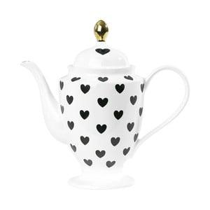 Ceainic ceramică Hearts, 1 l