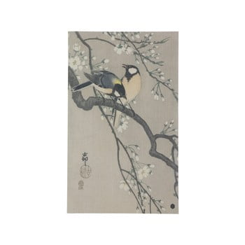 Poster realizat manual din hârtie BePureHome Blossom, 35 x 25 cm de la BePureHome