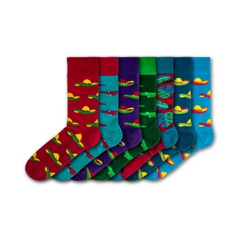 Set 7 perechi de șosete pentru bărbați Black&Parker London Sombrero, mărime 41 - 45