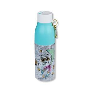 Sticlă cu carabină Tri-Coastal Design, 750 ml, albastru