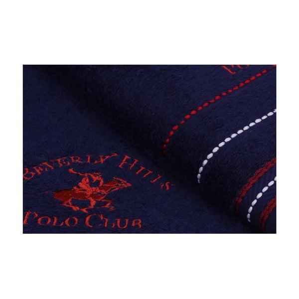 Sada 2 modrých ručníků Polo Club, 70x140cm