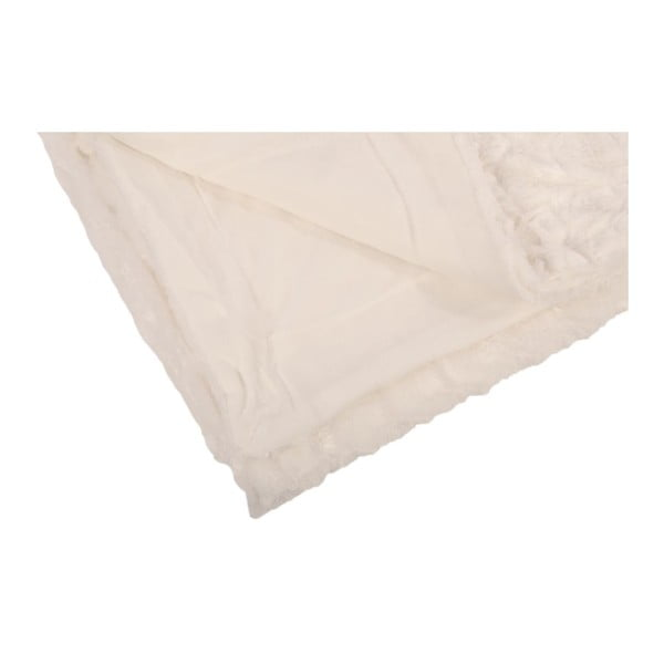 Přehoz na postel Robin, bílý, 210x230 cm