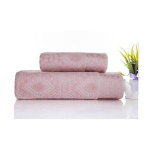 Sada 2ks ručníků Sal Pink, 50x90 cm a 70x140 cm