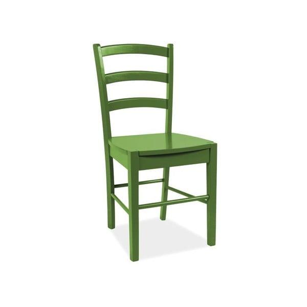 Jídelní židle CD-38, zelená
