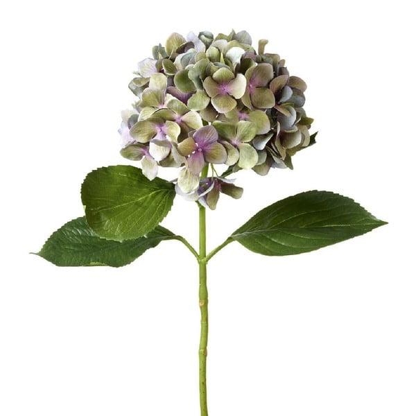 Umělá květina Hydrangea Blue