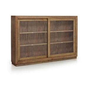 Prosklená skříňka ze dřeva mindi Moycor Merapi