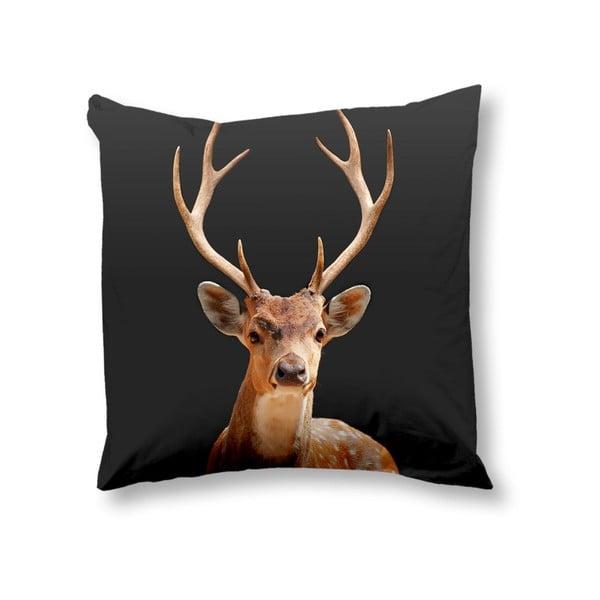 Povlak na polštář Muller Textiels Deer Anthracite, 50x50cm