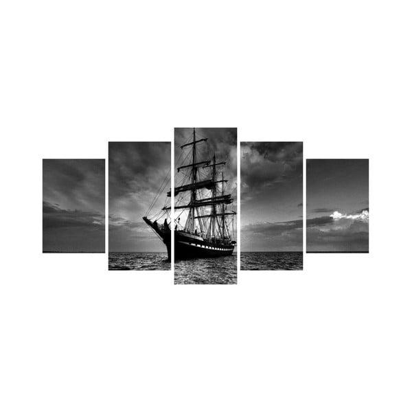 Vícedílný obraz Black&White no. 34, 100x50 cm