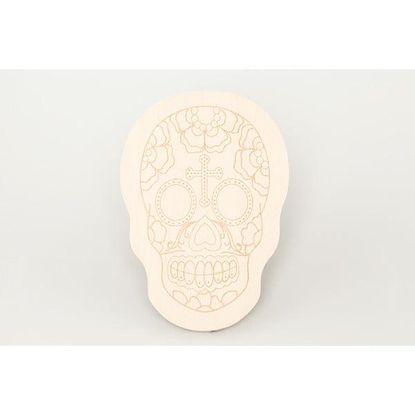 Dřevěné krájecí prkénko Big Skull