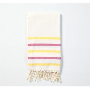 Hamam osuška z ručně tkané bavlny ZFK Fabian, 170x100cm