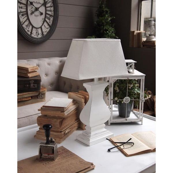 Stolní lampa White Antique, 51 cm