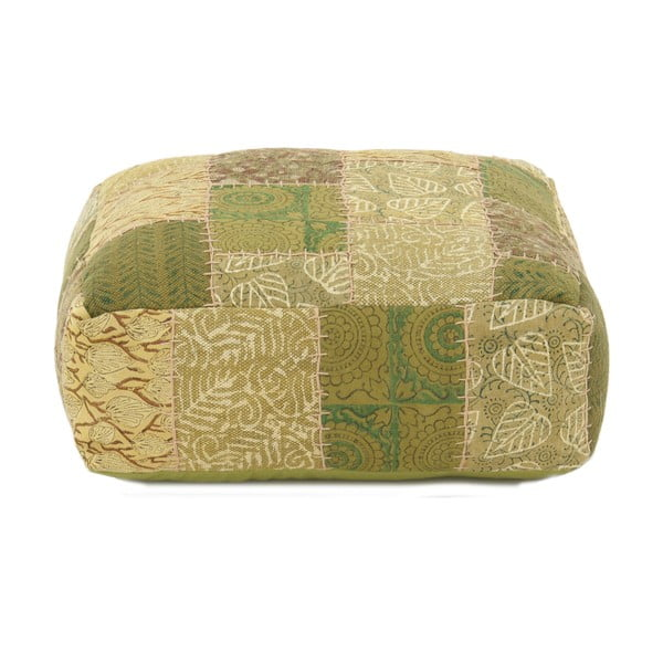Puf Green Patchwork