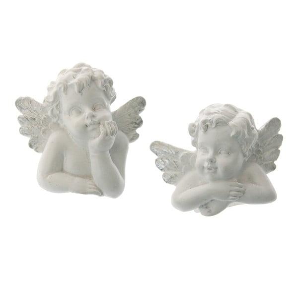 Sada 2 ozdob na svíčku Angel