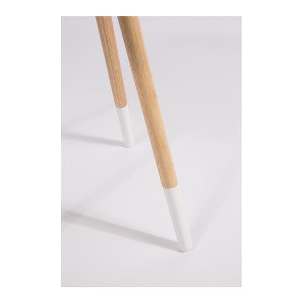 Măsuță Zuiver Two Tome, alb
