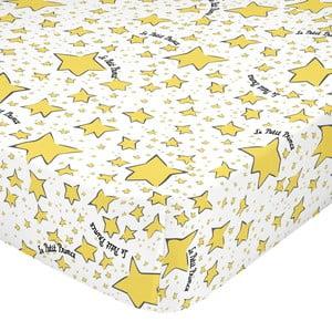 Elastické bavlněné prostěradlo Mr. Fox Migration, 90 x 200 cm