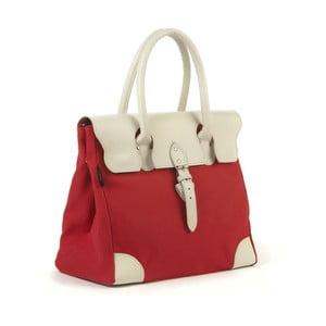 Bavlněná kabelka Garbo, červená