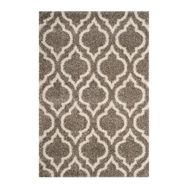 Šedohnědý koberec Safavieh Mati, 228 x 154 cm