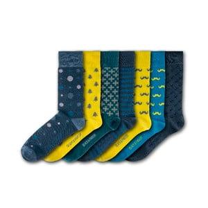 Sada 7 ponožek Black&Parker London Victoria Gardens, velikost 37 – 43
