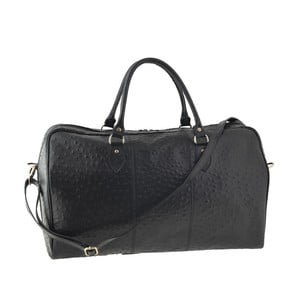 Černá kožená kabelka Tina Panicucci Ganger