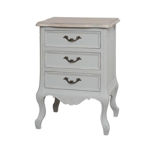 Noční stolek se 3 zásuvkami Livin Hill Catania