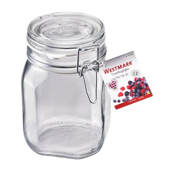 Zavařovací lahev Gummiring, 1000 ml