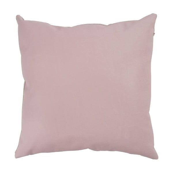 Polštář Leather Pink, 40x40 cm