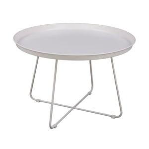 Bílý konferenční stolek Nørdifra Pogorze, Ø63cm