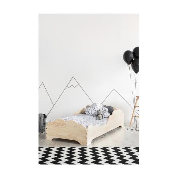 Dětská postel z borovicového dřeva Adeko BOX 9, 70x140 cm