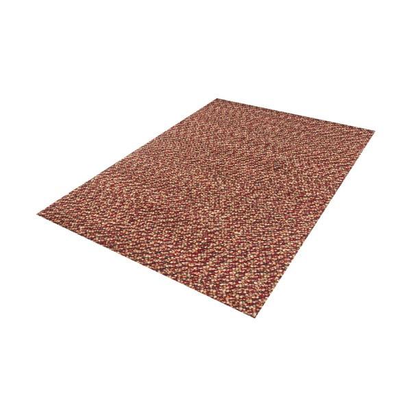 Vlněný koberec Monza Red, 70x140 cm