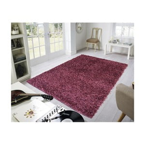 Vínový koberec Webtappeti Shaggy, 60x100cm