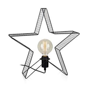 Decorațiune LED decorativă Markslöjd Holber Star Black