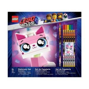 Set zápisníku a papírenských doplňků LEGO®příběh2 Unikitty