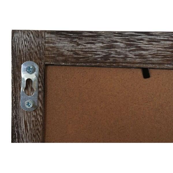Hnědá dřevěná nástěnná tabule Mendler Shabby Billboard