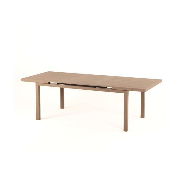 Svetlohnedý záhradný stôl Ezeis Typon
