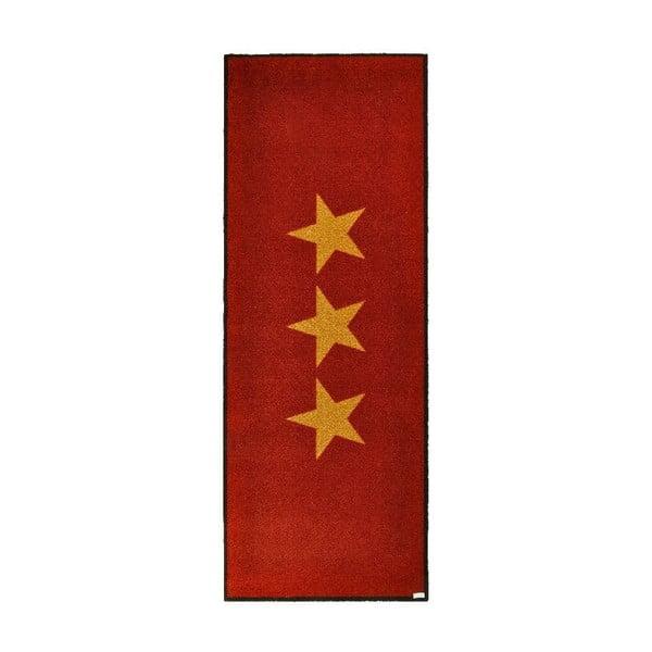 Rohožka Stars Red, 67x180 cm