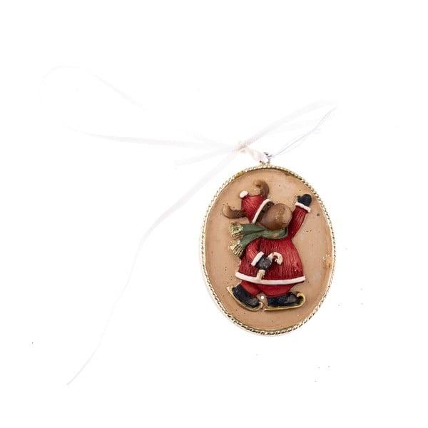 Ozdoba wisząca z motywem renifera Dakls, dł. 5,5 cm