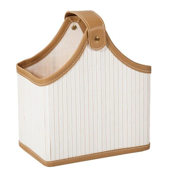Lakovaný bambusový košík Lacado