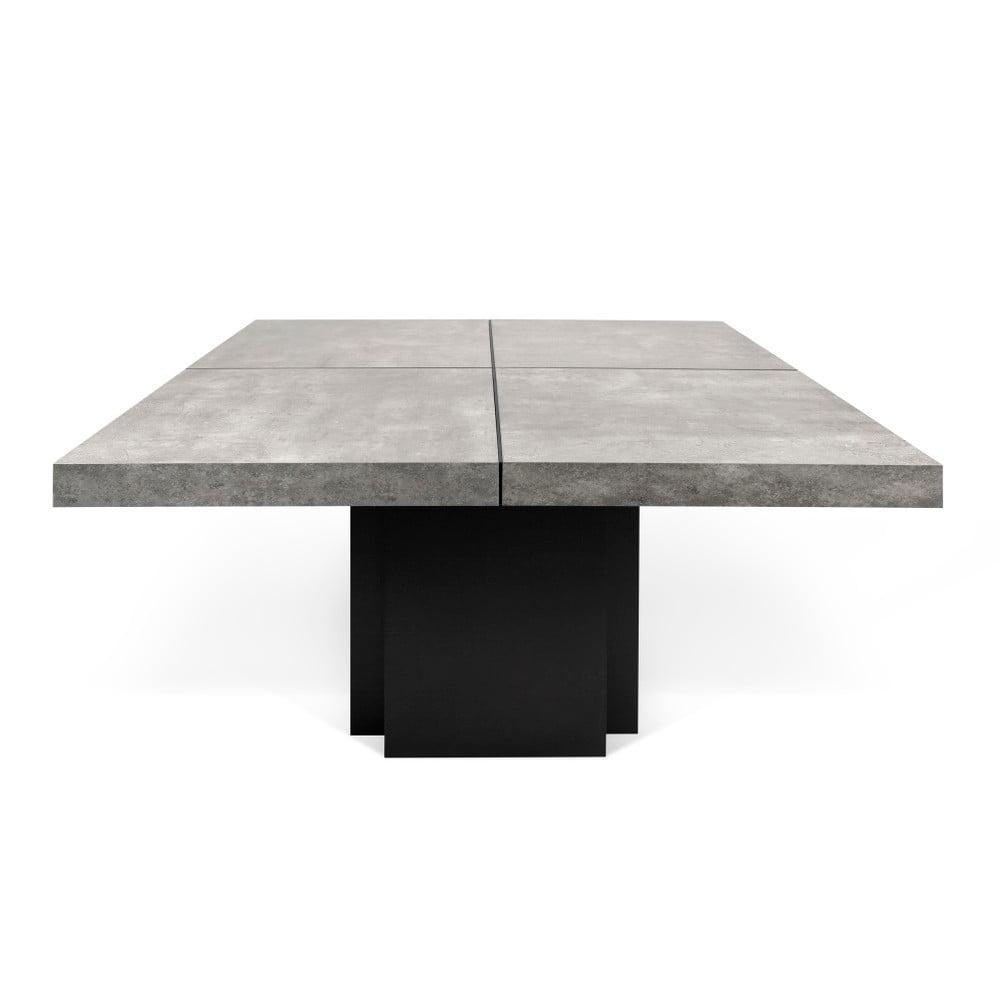 Jídelní stůl s dekorem betonu TemaHome Dusk, délka150cm