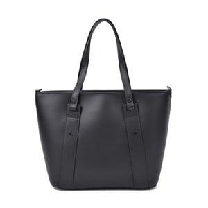 Černá kožená kabelka Roberta M Misie