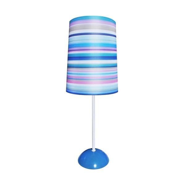 Stolní lampa Duke, modrá