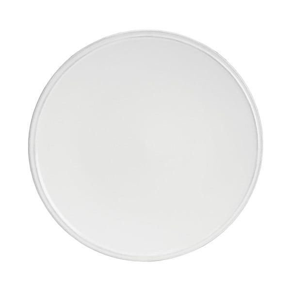 Bílý kameninový talíř Costa Nova Friso, ⌀28cm