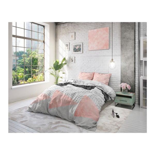 Bavlněné povlečení na dvoulůžko Sleeptime Artistic, 200 x 220 cm