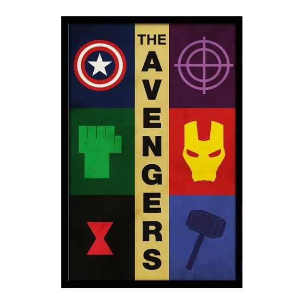 Plakát Avengers, 35x30 cm