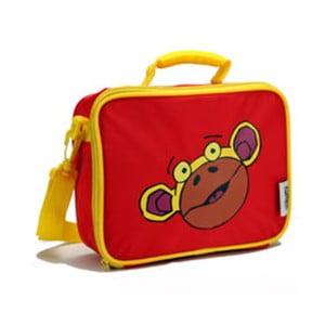 Červená dětská taška na svačinu Navigate Monkey